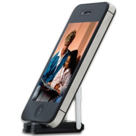 SwissTech Smartphone Stand In Use